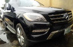 Mercedes-Benz Ml350 2013 Black for sale