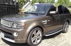 Neatly Used Land Rover Range Rover Sport 2011 Gray for sale