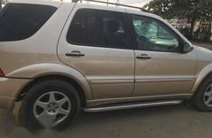 Mercedes-Benz M Class 2005 Gold for sale