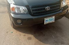Toyota Highlander 2004 Black For Sale