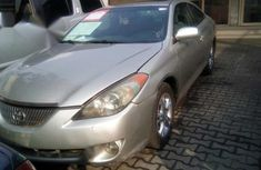 Nigerian Used Toyota Solara 2004 Gold for sale