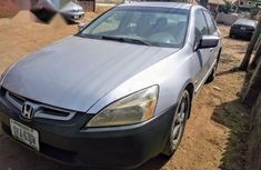 Neatly Used Honda Accord 2004 Silver for sale