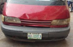 Toyota Previa 2002 Red for sale