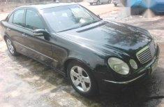 Mercedes Benz E240 Avangrante 2005 Black for sale