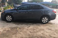 Toyota Corolla LE Premium 2014 Gray for sale
