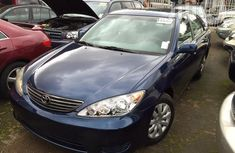 Used Toyota Camry 2002 Blue for sale