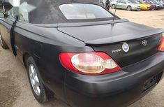 Toyoya Solara 2002 Black for sale