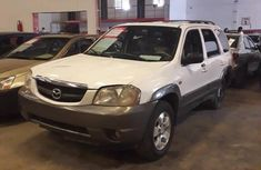 Mazda Tribute 2003 White for sale