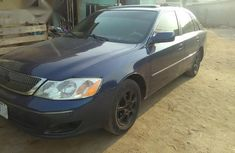 Toyota Avalon 2002 Blue for sale