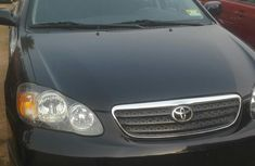 Tokunbo Toyota Corolla S 2006 Black For Sale