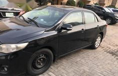 Clean Used Toyota Corolla 2012 Black for sale
