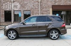 Mercedes-Benz M Class ML63 AMG 2014 Gold for sale