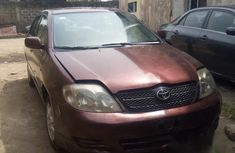 Toyota Corolla 2004 Red for sale
