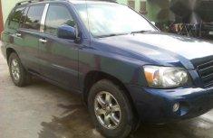 Toyota Highlander 2005 Blue for sale