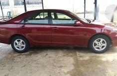 Clean Toyota Camry 2004 Red for sale