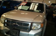 Ford Escape 2009 Silver for sale
