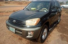 Toyota RAV4 2002 Black for sale