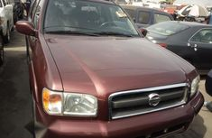 Nissan Pathfinder 2002 Red for sale