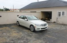 White clean Benz C300 2008 for sale on Naijauto.com
