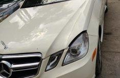 Mercedes-Benz E550 2012 White for sale