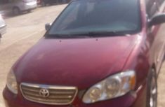 Toyota Corolla 2005 Red for sale