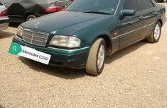 Mercedes-Benz C220 1998 Green for sale