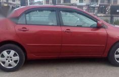 Clean Toyota Corolla 2006 Red for sale