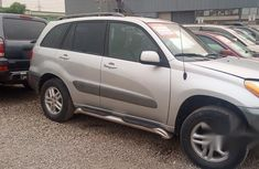 Toyota RAV4 2004 Silver for sale