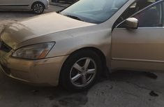 Nigerian Used Honda Accord 2002 Gold for sale