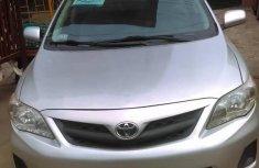 Toyota Corolla 2013 Silver for sale