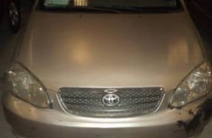 Clean Used Toyota Corolla 2004 Beige For Sale
