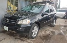 Mercedes-Benz ML500 2006 Black for sale