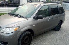 Tokunbo Mazda MPV 2005 Gray for sale