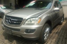 Mercedes-Benz Ml350 2006 Silver for sale