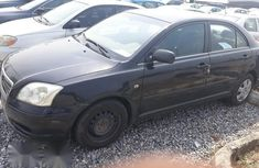 Toyota Avensis 2006 Black for sale
