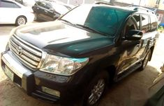 Neat Toyota Land Cruiser 2013 Black for sale