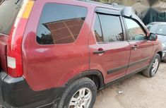 Honda CR-V 2002 Red for sale