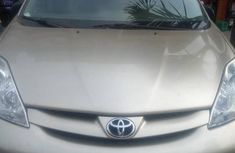 Clear Sienna 2007 Model Silver for sale