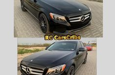 Fresh Mercedes-benz C300 4matic 2015 Black for sale