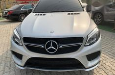 Mercedes-benz GLE450 2016 Silver for sale