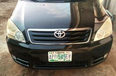 Toyota Avensis Verso 2003 Black for sale