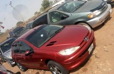 Buy Clean Peugeot 206 2004 Red for sale