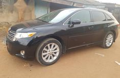 Clean Used Toyota Venza 2010 Black for sale
