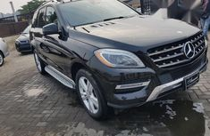 Mercedes Benz M Class 2013 Black for sale