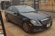 Clean Mercedes-benz E350 2012 Black for sale