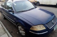 Vollswagen Passat 2002 Blue for sale