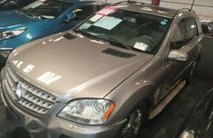Mercedes Benz ML350 4matic 2008 Silver for sale