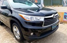 Toyota Highlander 2015 XLE V6 Black for sale