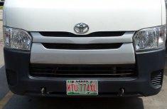 2014 Manual White Petrol Toyota HiAce for sale