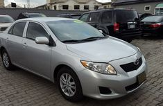Clean Tokunbo Toyota Corolla 2009 Silver for sale